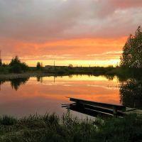 Закат на пруду, Гаврилов Посад