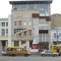 Иваново. Дом в центре в стиле конструктивизма., Иваново