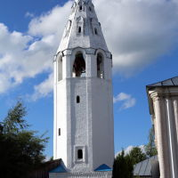 Лух. Колокольня Успенского собора, Лух