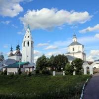 """Лух. Вид на посёлок со стороны """"кремля"""", Лух"""