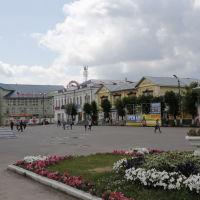 Центральная площадь перед кинотеатром, Шуя