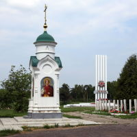 Часовня у мемориала на Троицком кладбище, Шуя