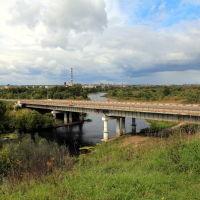 Лихушинский мост через Тезу, Шуя