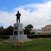 Памятник М.В. Фрунзе на одноименной площади, Шуя