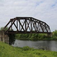 """Железнодорожный мост через Тезу (""""Сталь-мост""""), Шуя"""