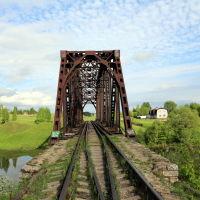 Сталь-мост через Тезу, Шуя
