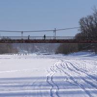 Вантовый мост над Тезой., Шуя