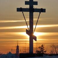 Поклонный крест на въезде в Шую., Шуя
