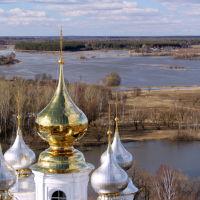 Золотые купола Воскресенского собора, Шуя