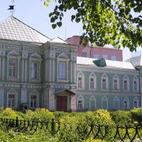 Краеведческий музей, со стороны бывшего шуйского кремлёвского вала., Шуя