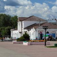 Улица Малахия Белова. Торговые ряды., Шуя