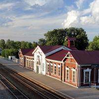 Железнодорожный вокзал. Здание 19 века, Шуя