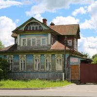 Старый деревянный дом на Театральной улице, Шуя