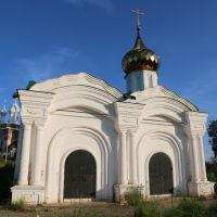 Часовня святителя Николая (Часовня у дороги) в селе Дунилово, Шуя