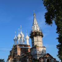 Разрушенный храм в Дунилове, Шуя