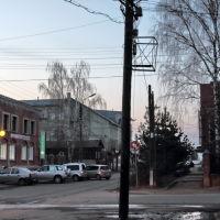 Вечный столб на перекрёстке улиц Советской и Васильевской, Шуя
