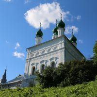 Село Красноармейское, Церковь Троицы Живоначальной со стороны Тезы, Шуя