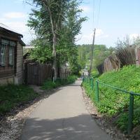Заводской переулок (спуск к деревянным лавам на заречную сторону), Шуя