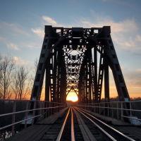 Железнодорожный мост., Шуя