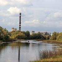 Теза в районе лихушинского моста., Шуя