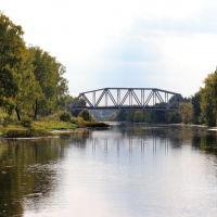 Теза. Железнодорожный мост., Шуя