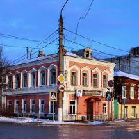 Перекрёсток улиц Свердлова и Ленина., Шуя