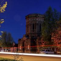 Старая башня. Бывшая водонапорная башня первого в России пожарного водопрвода., Шуя