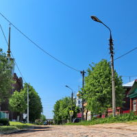 Улица Зинаиды Касаткиной., Шуя