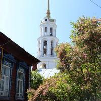 Колокольня Воскресенского собора., Шуя
