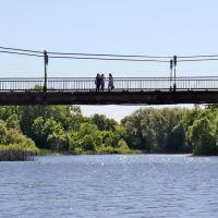Подвесной мост., Шуя