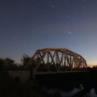 Звёзды над железнодорожным мостом., Шуя