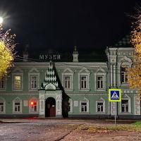Площадь Ленина. Краеведческий музей., Шуя