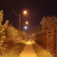 Поздняя прогулка возле пединститута., Шуя