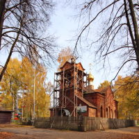 Парк. Единоверческая церковь., Шуя