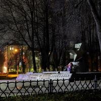 Памятник погибшим в современных войнах., Шуя