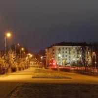 Пешеходный Октябрьский мост., Шуя