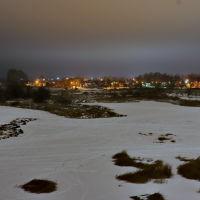 Вид из парка на реку Тезу и Юрчаково., Шуя