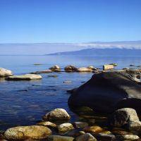 Байкал,Вид на Святой нос, Байкал