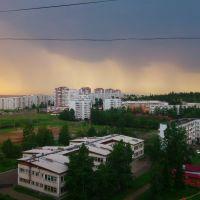 Надвигается гроза, Усть-Илимск