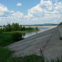 Дамба, Усть-Илимск