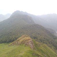 Хребет горы Тотур, Тырныауз