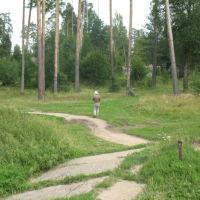 На берегу Серебрянки, Правдинск