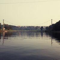 Пешеходный мост, Зубцов