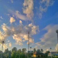 Небо над п.Кесова гора, Кесова Гора
