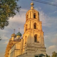 Храм Николая Чудотворца (1800г.)в процессе реставрации в 2011году, Кесова Гора