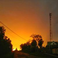 Закат пылающий огнем, Кесова Гора