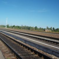 Железнодорожные пути, Спас-Деменск