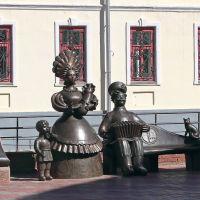 Памятник Дымковской игрушке. Киров, Киров