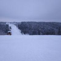 Горнолыжный спуск., Нолинск