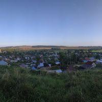 Нолинск с угора., Нолинск